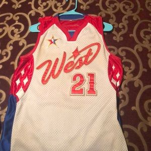 Tim Duncan Western Conference All Star Jersey
